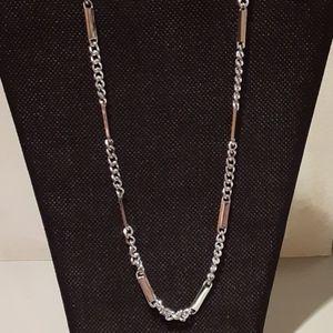 Ralph Lauren Silver Tone Necklace